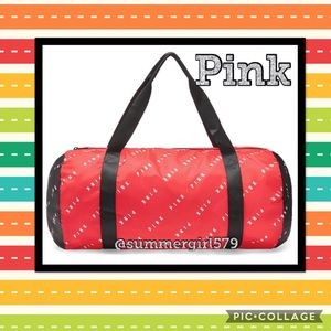 NWT Victoria's Secret Pink Packable Duffle